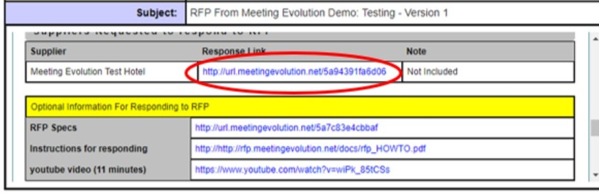 Does a hotel need a log-in to Respond to an RFP? – Meeting Evolution